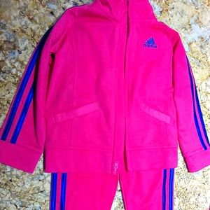 Adidas Track Suit Size 3T